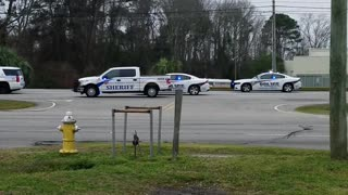 Police Chase Procession