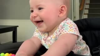 5 months Cute babe smiling 😄. This will make you smile
