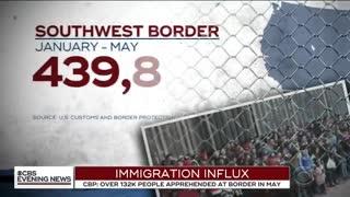 CBS Report on illegal alien border crisis