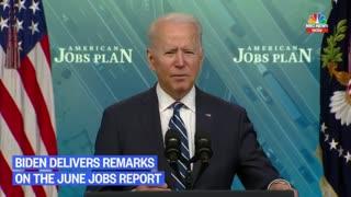 President Biden Remarks On New Jobs Report
