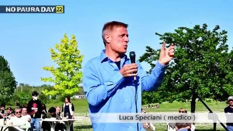 NO PAURA DAY 22, Cesena 8/5/2021, intervento di Luca Speciani (medico chirurgo)
