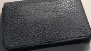 J M custom leather