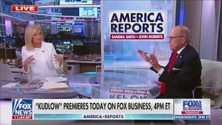 Larry Kudlow Curses Over Kamala Harris Vaccine Claims