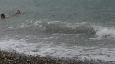 Black Sea storm, Krasnodar Territory, Anchor gap