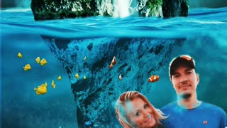 SO HAPPY TOGETHER IN THE WATER WORLD