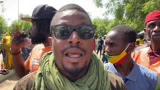 Mali security forces disperse rally against French army