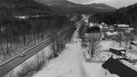 Snowmobiling in Warren, NH