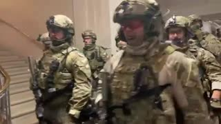 Military in the Capitol Building