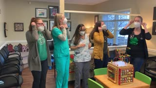 """Nurses dance to """"Frozen 2"""" during Covid19 outbreak"""