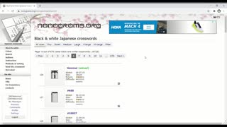 Nonograms - Piglet