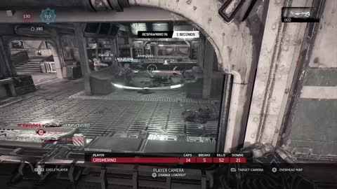 Gears of War 4 King of the Hill #12 Lift Apex 100+ Kill Special