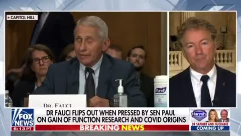 Rand Paul Is Referring Anthony Fauci to DOJ for Criminal Inquiry