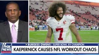 Burgess Owens Goes Off On Colin Kaepernick's Lack Of Common Sense