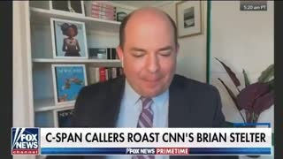 CNN's Brian 'POTATO' Stelter Gets Blasted From Orbit By CSPAN Callers