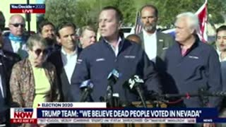 NOV 2020 DEAD PEOPLE VOTING- VOTER FRAUD In Nevada - You