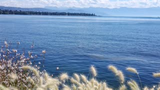 Morges city in Switzerland this is summer
