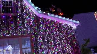 Extreme Christmas home lights