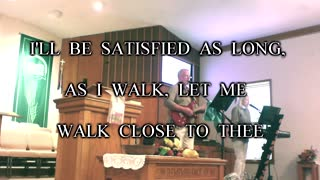 """Rising Faith's version of the old hymn """"Just A Closer Walk With Thee"""""""