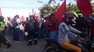 Protestas en Albornoz