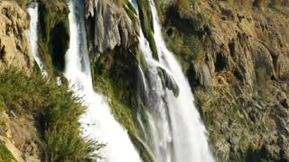 Waterfall sound and birds chirping