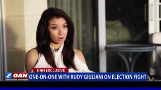 EXCLUSIVE: OAN's Chanel Rion talks election fight with Rudy Giuliani