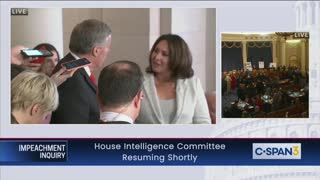 Mark Meadows Torches Reporter In Hallway During Impeachment Hearing Recess [WATCH]