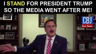 MyPillow CEO and Founder Mike Lindell Stands for President Trump So The Media Went After Him!
