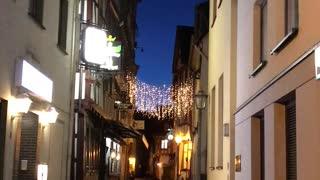 Church bells ringing in Boppard, Germany