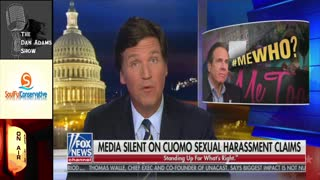 Tucker, Guest Call Out INSANE Double Standard on Cuomo Harassment Allegation