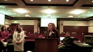 Lt. Gov. Janice McGeachin teaches Idahoans how to participate in government
