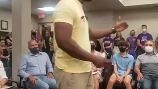 Father shuts down Critical Race Theory