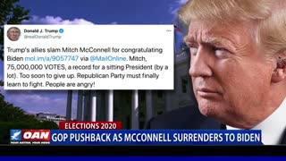 White House continues election fight despite Senate Majority Leader McConnell