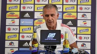 Video: Esto dijo Carlos Queiroz en rueda de prensa de la Selección Colombia