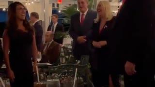 Patriots Sing Happy Birthday to President Trump in Amazing Celebration