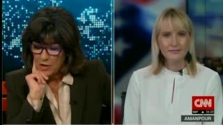 Elizabeth Harrington destroys Christiane Amanpours false narrative.