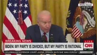 Joe Biden Answers the Press in Demonic Whispers