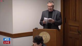 John Cochran Testifies During Georgia Senate Hearing on Election Issues