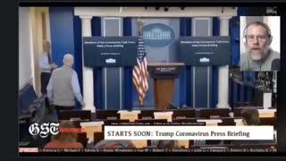 Journalists talking