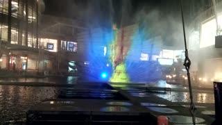 A fountain show