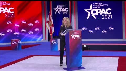 Sen. Marsha Blackburn at CPAC 2021