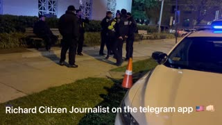 Washington DC prepping for ??? Video by Richard Citizen Journalist
