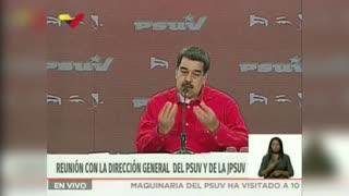 """Maduro tildó de """"ridiculez"""" que Duque pida a Guaidó extradición de Merlano"""