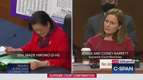 """Sen. Hirono Complains Term """"Sexual Preference"""" Is Offensive"""