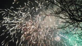 The most beautiful fireworks. Very beautiful fireworks.