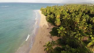 Beach Stock Footage   Sea Waves & Beach Drone Video