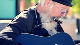 Amazing Street Musician Guitarist