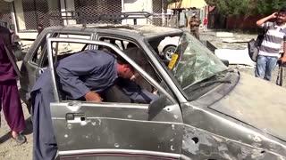 Blasts and gun attack rock Afghan capital