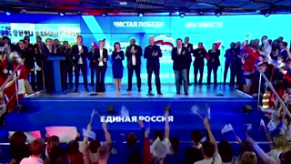 Russia's ruling party loses seats but wins election