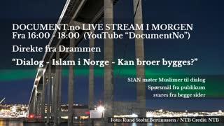 Livestream allerede i morgen! Pluss, valgvake livestream neste tirsdag!