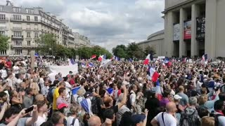 France 7-24-21: protests against vaccine passports and vaccine mandates